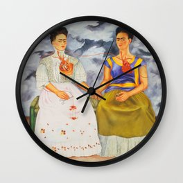Two fridas art Wall Clock