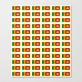 flag of sri lanka- ශ්රී ලංකා,இலங்கை, ceylon,Sri Lankan,Sinhalese,Sinhala,Colombo. Canvas Print
