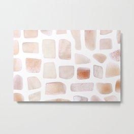 Sunstone Stones Metal Print