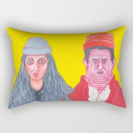 Ethan and Hila H3H3 Rectangular Pillow