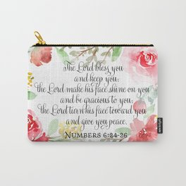 The blessing | Watercolor | Christian Art Carry-All Pouch