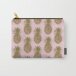 Glitter Pineapple Carry-All Pouch