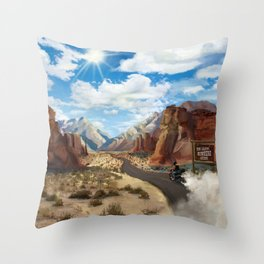 Unknown Legend Throw Pillow