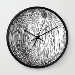 Vintage Coconut Wall Clock