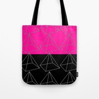 pyramid Tote Bags featuring Pyramid by Georgiana Paraschiv