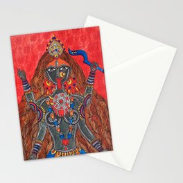 Kaali-The Fierce Form Stationery Cards