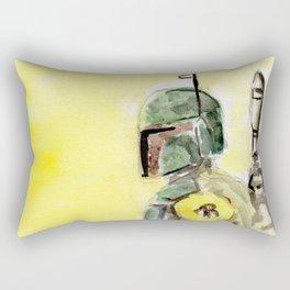 Bounty Hunter Rectangular Pillow