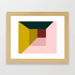 Abstract room Framed Art Print