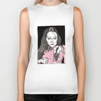 jessica lange Biker Tanks featuring Jessica by BlushBoundJazzy