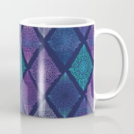 Night Glow Diamonds Coffee Mug