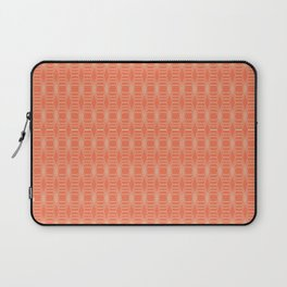 hopscotch-hex tangerine Laptop Sleeve