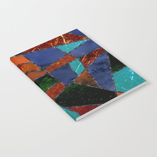 Abstract #447 Lava Flow Notebook