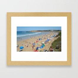Bell's Beach - Victoria Australia Framed Art Print