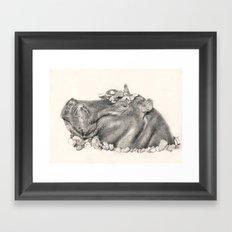 Dance of the hours? Framed Art Print