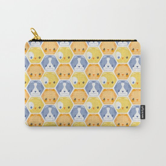 Hexy Cats Carry-All Pouch