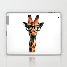 Hipster Giraffe Laptop & iPad Skin