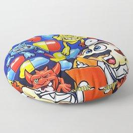 Dr Mario Nes Cover Floor Pillow