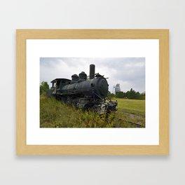 Steam Engine Framed Art Print