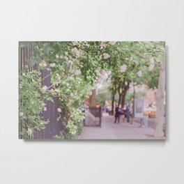 West Village in Bloom Metal Print