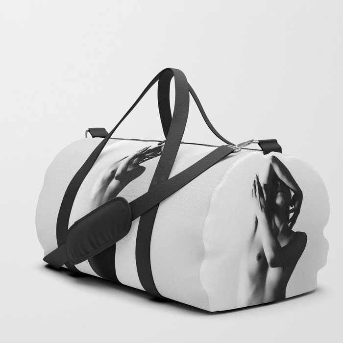 Nude dancer black and white nude photography 2010 Duffle Bag