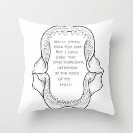 TFB // Twin Size Mattress Throw Pillow