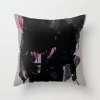 tangled Throw Pillows featuring Tangled by Georgiana Paraschiv