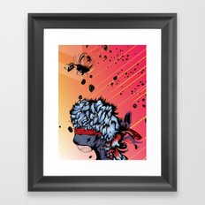 Ninja Bear & Lagorca Framed Art Print