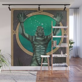 Creature From the Black Lagoon Nouveau Wall Mural