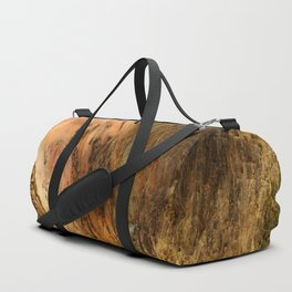 Yellow Rocks Of The Yellowstone Valley Duffle Bag