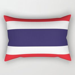 Thailand Flag Rectangular Pillow