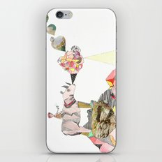 Rhinos Smell Roses Too iPhone & iPod Skin