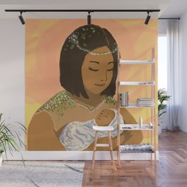 Mother and Child Wall Mural