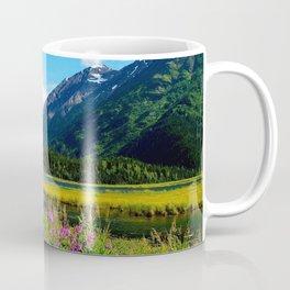 God's Country - Summer in Alaska Coffee Mug