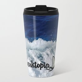 Official Sharktopia Logo Travel Mug