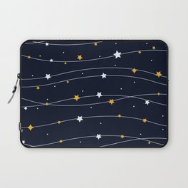 Sparkling stars Laptop Sleeve