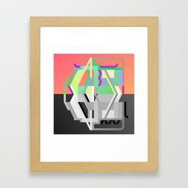 Maskine 4 Framed Art Print