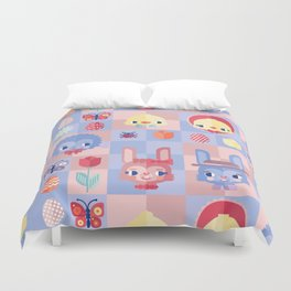 Happy Easter! Pattern Duvet Cover