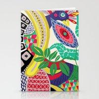 rio de janeiro Stationery Cards featuring RIO DE JANEIRO 001 by Maca Salazar