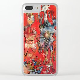 It's All About The Dress Clear iPhone Case