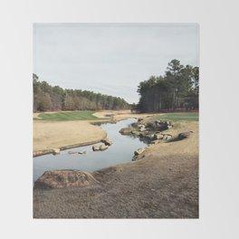 Golf Creek Winding Throw Blanket