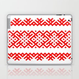 Pattern - Bogoroditsa - Slavic symbol Laptop & iPad Skin