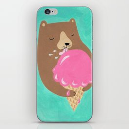 We all dream of ice cream iPhone Skin
