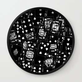 Suits You BLACK Wall Clock