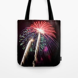 Palm Trees or Fireworks Tote Bag
