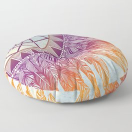 dreamcatcher: mining for the meaning Floor Pillow