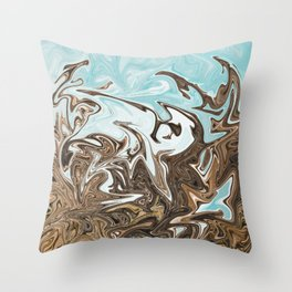 Reaching to the Heavens Throw Pillow