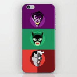 Villains iPhone Skin