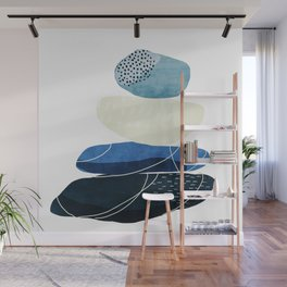 Pebbles & wire Wall Mural