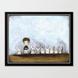 Not Just a Boy Canvas Print