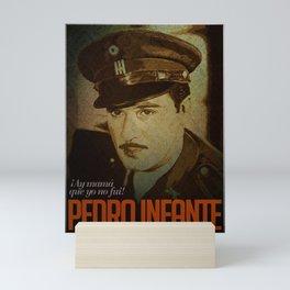 Pedro Infante Mini Art Print